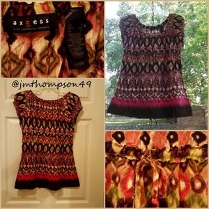 Axcess Peasant Blouse - S